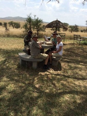 Serengeti Serena Safari Lodge : picnic