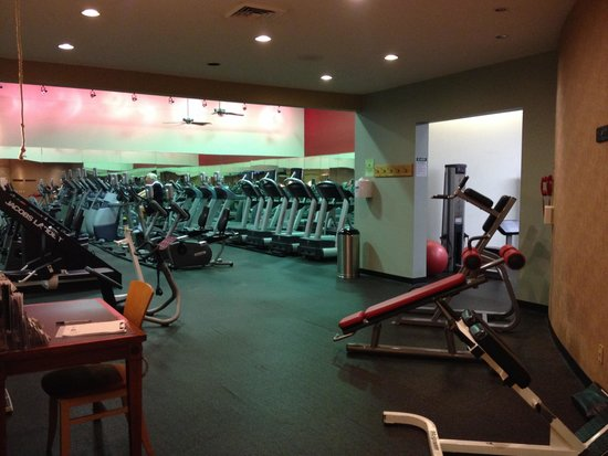 Doubletree by Hilton Hotel St Louis - Chesterfield : Big workout center