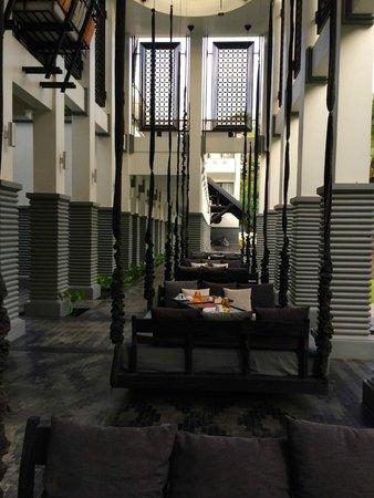 Shinta Mani Angkor: Outside dinning/breakfast