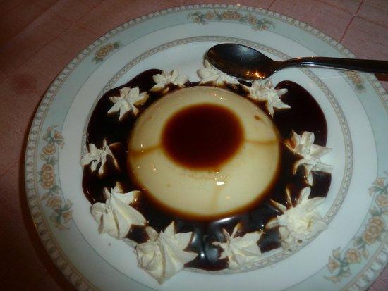 Ristorante S.Antonino: sweet, mascarpone with caramel