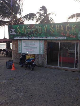 Mr. X's Shiggidy Shack Beach Bar : Shiggidy Shack