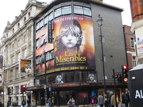 Les Miserables London : Außenansicht