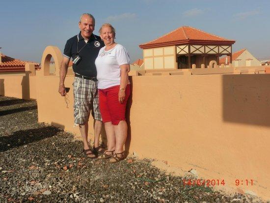 Suite Hotel Elba Castillo San Jorge & Antigua : En la azotea