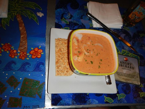 Square Grouper: Seafood Chowder