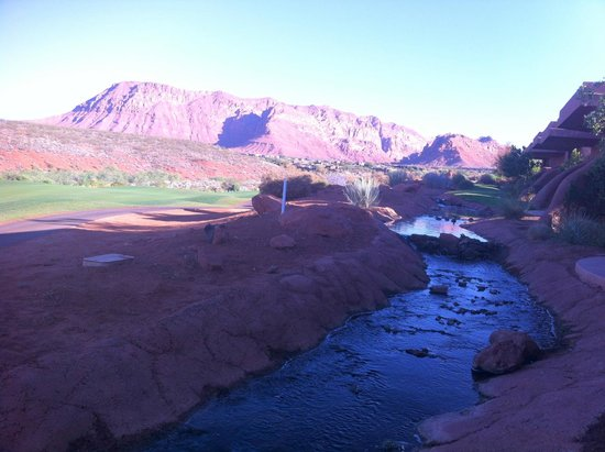 The Inn at Entrada: Morning view from our patio.