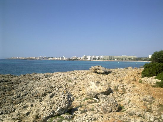 Playamar: view of S'illot