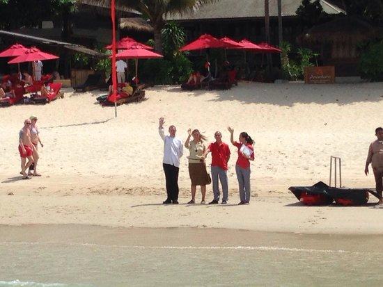 Anantara Rasananda Koh Phangan Villas : Farewell!