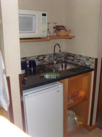 Inn At Cape Kiwanda: Mini-kitchen