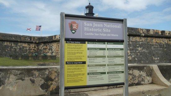 Site historique national de San Juan : San Juan National Historic Site