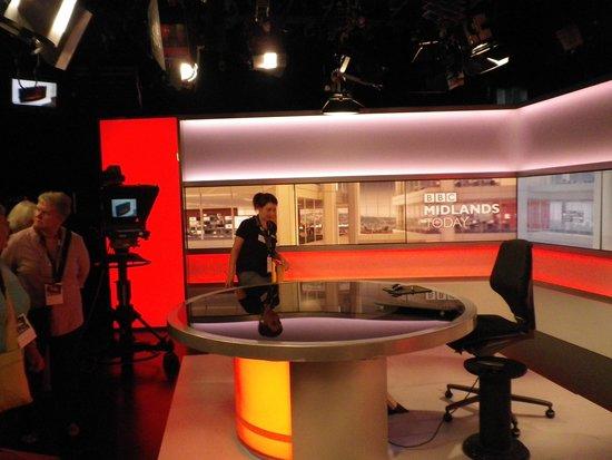 BBC Birmingham Tours: News Studio