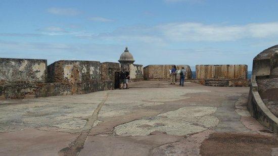 Site historique national de San Juan : Sentry box