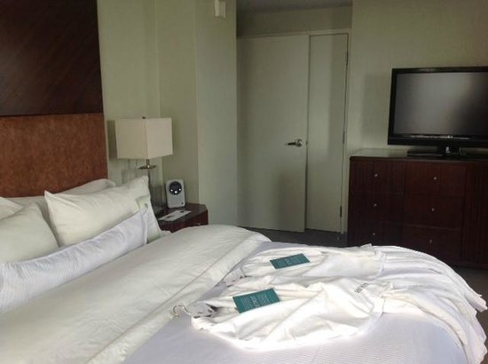 The Westin Book Cadillac Detroit: The bathrobes were convenient and comfortable