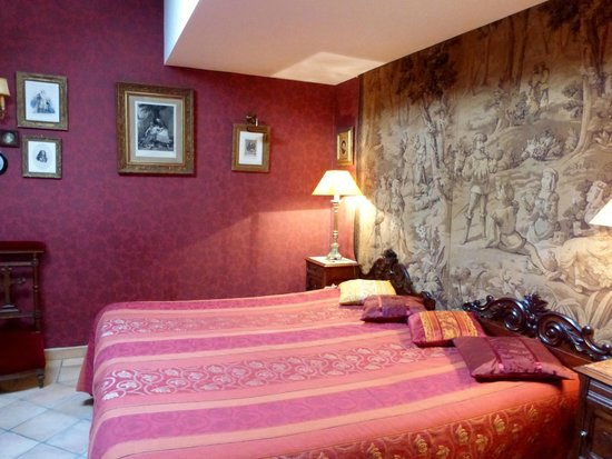Moulin de Fresquet : Bedroom