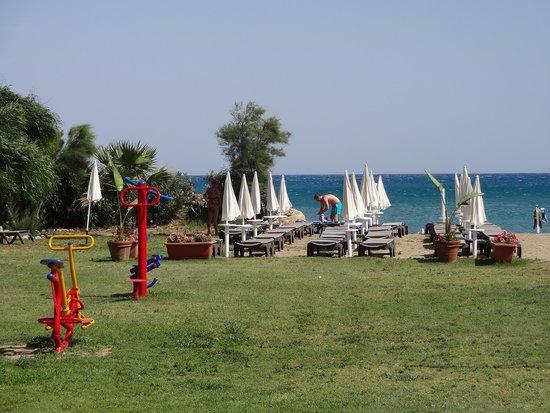 Acacia Resort Parco dei Leoni: beach
