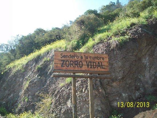 Cerro San Cristobal: Descida pela trilha