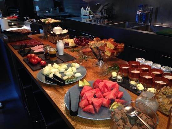 Hotel Consolacion: El desayuno, espectacular