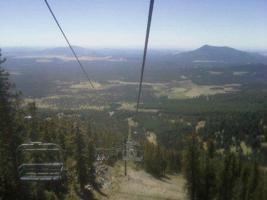 Arizona Snowbowl: Ski lift
