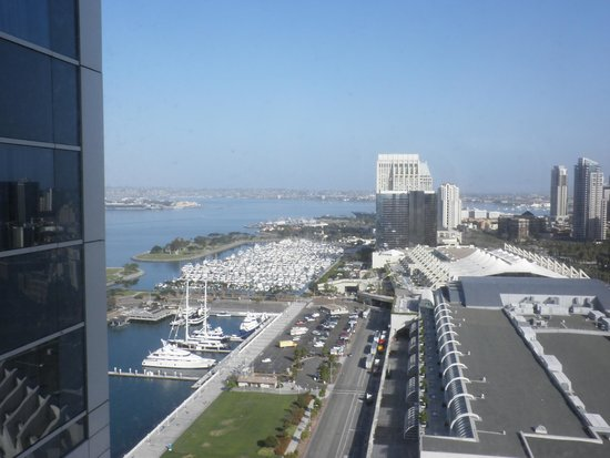 Hilton San Diego Bayfront: View from 25th