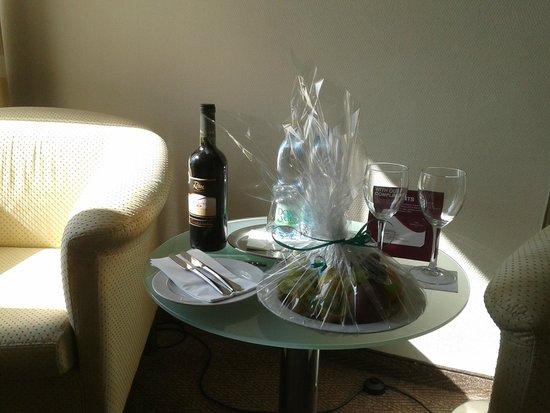 Hotel International Prague: accueil VIP