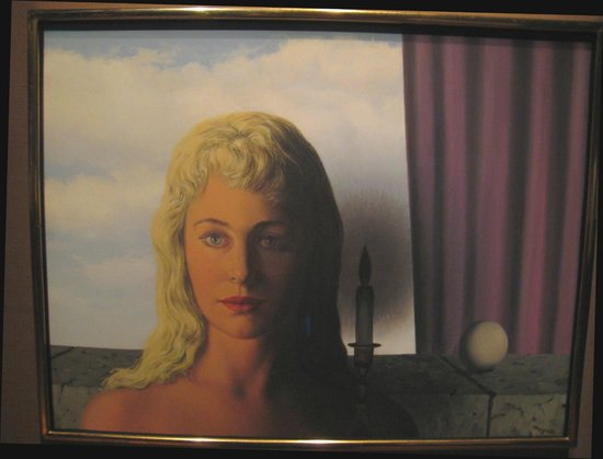 Musee Magritte Museum - Royal Museums of Fine Arts of Belgium : Attractive figure