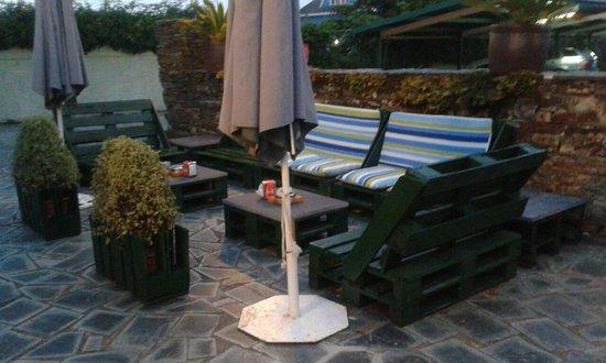 Hotel La Villa : Zona de relax
