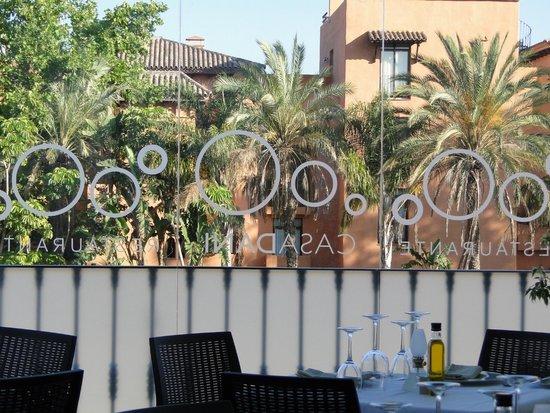 Nuestra terraza picture of restaurante casa dani for Restaurante casa america terraza