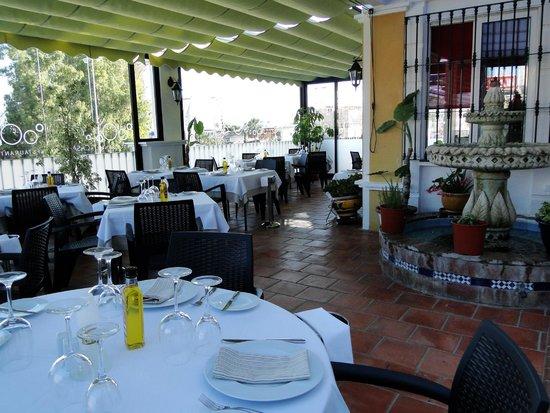 La fuente de nuestra terraza fotograf a de restaurante for Restaurante la terraza de la casa barranquilla