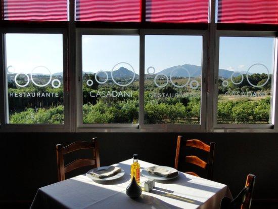 Restaurante CASA DANI: La vista habla por si sola.