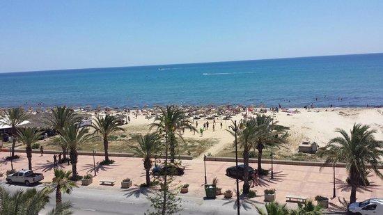 Hotel Mehari Hammamet: vista dalla mia camera