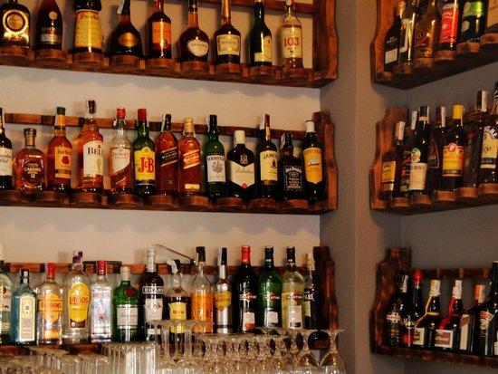 Restaurante CASA DANI: Algunas bebidas de nuestro Bar.