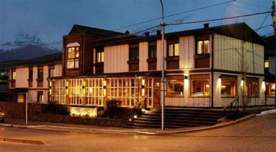 Hostal Del Bosque Apart Hotel: Vista externa