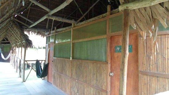 Amazon Camp Lodge: Habitación