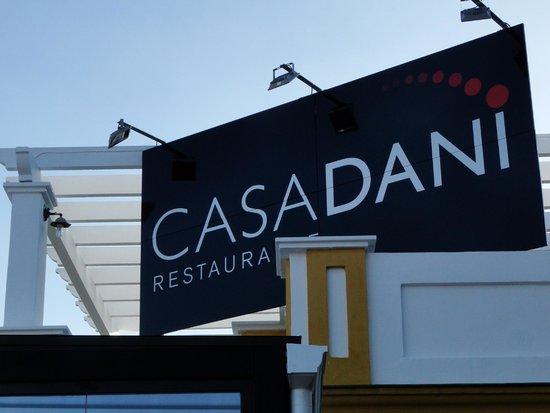 Restaurante CASA DANI: Cartel