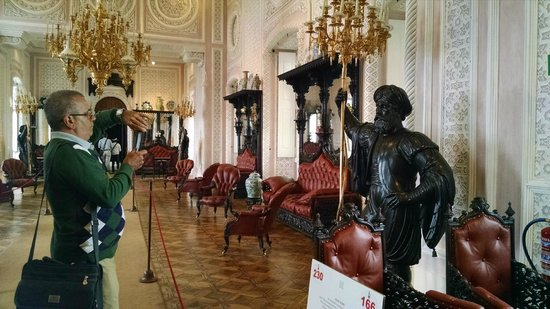 Park and National Palace of Pena: sala nobre