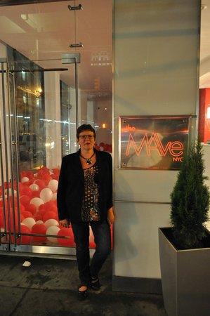 The MAve Hotel : Ingang The Mave