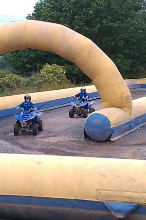 Crieff Hydro Hotel and Resort: mini quads