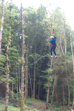 Crieff Hydro Hotel and Resort: high wire fun