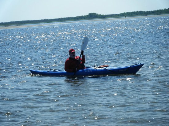 Kouchibouguac Resort: kayak to the seal colony in 45 mins