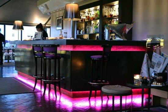 Sofitel Rome Villa Borghese: Bar na cobertura do hotel