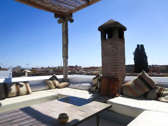 Hotel & Spa Riad Edward : The roof terrace