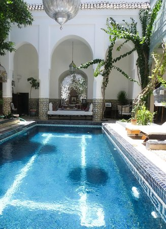 Hotel & Spa Riad Edward : Cool pool
