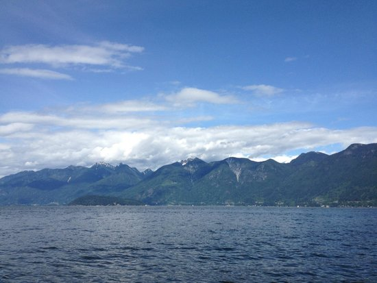 Granville Island Boat Rentals and Fishing Charters: view from boat trip to Bowen Island
