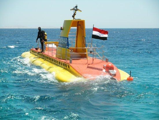Old Palace Resort: Submarine trip