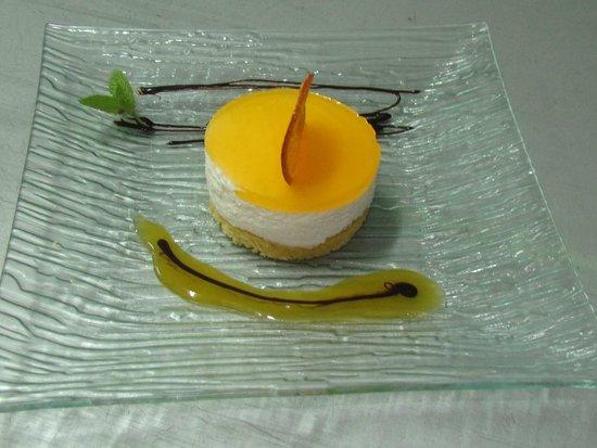 restaurant victor: Semifrio de yogur