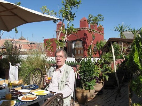 Riad Tamarrakecht : View of the terrace
