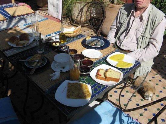Riad Tamarrakecht : Breakfast