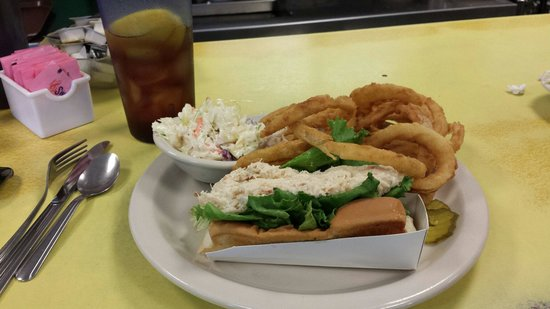Moody's Diner: Crab roll