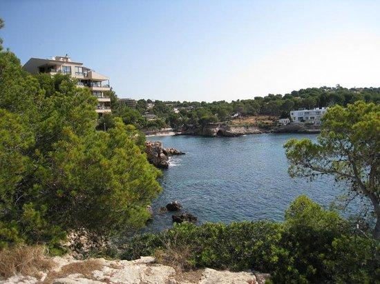 Hotel HSM Maria Luisa : notre plage  au fond