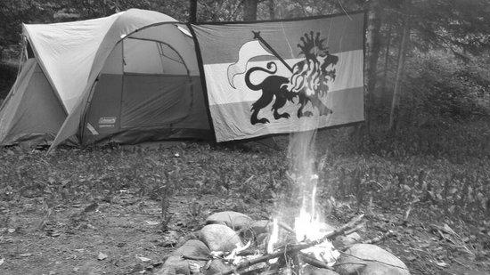 Magic Falls Rafting Company: jah campsite