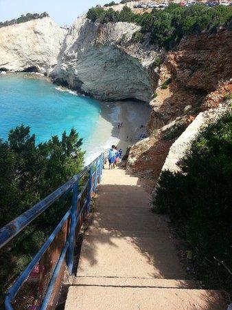 Porto Katsiki: access stairs